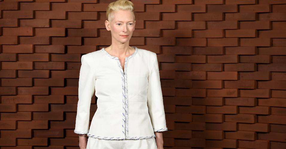 A Tilda Swinton no Chanel Metiers d'Art