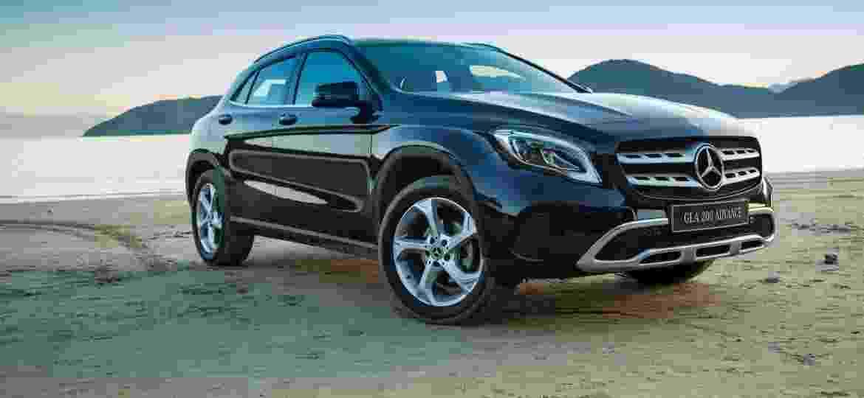GLA tem tido relativo sucesso de vendas pelo mundo, segundo a Mercedes, embora não tenha vendas expressivas no Brasil - Divulgação