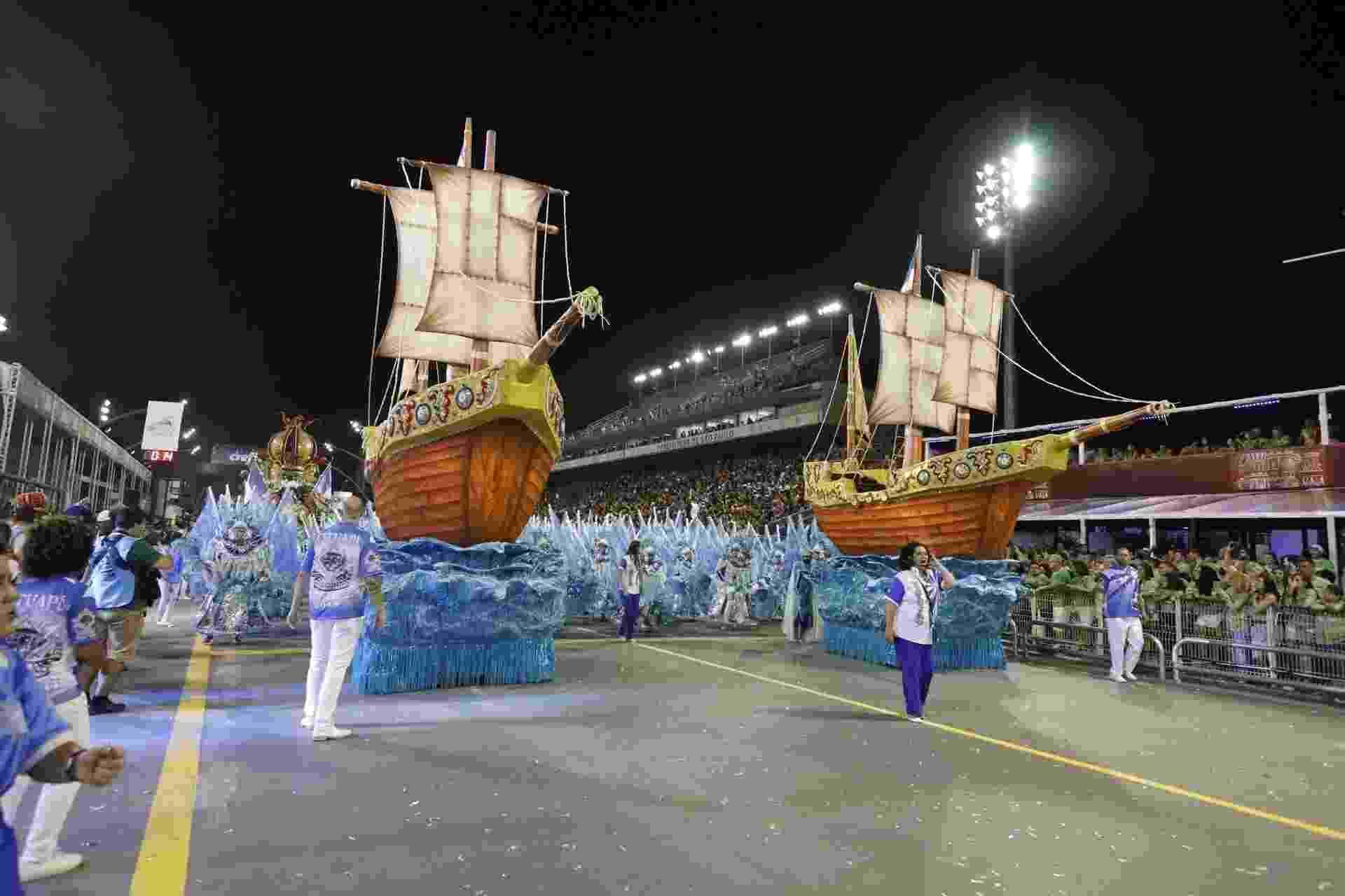 Desfile da Acadêmicos do Tatuapé no Carnaval 2018 - Simon Plestenjak/UOL