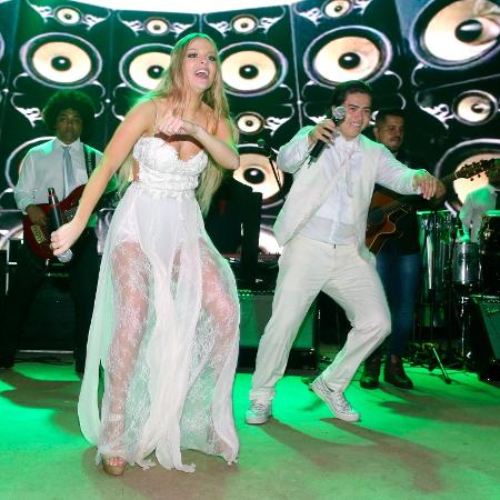 Whindersson e Luísa Sonza se divertem ao som do DJ Alok - Manuela Scarpa/Brazil News?
