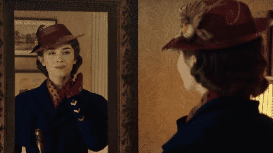 """Cena do trailer """"O Retorno de Mary Poppins"""" - Reprodução/Youtube"""