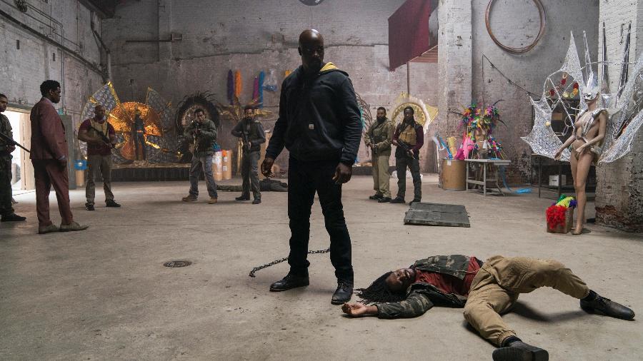 """Cena da segunda temporada de """"Luke Cage"""" - Divulgação/Marvel"""