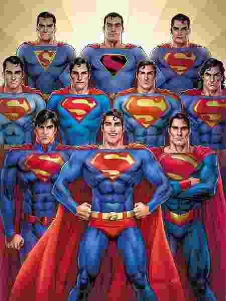 Edição especial de número 1000 das HQs do Superman - Reprodução - Reprodução
