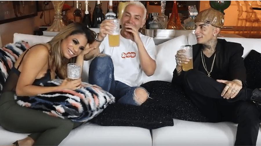 Matheus Mazzafera entrevista Lexa e MC Guimê - Reprodução/YouTube
