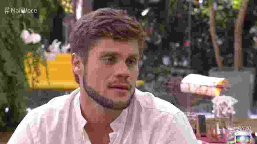"""Breno foi o convidado """"Mais Você"""" desta terça-feira (17) - Reprodução/Globo"""