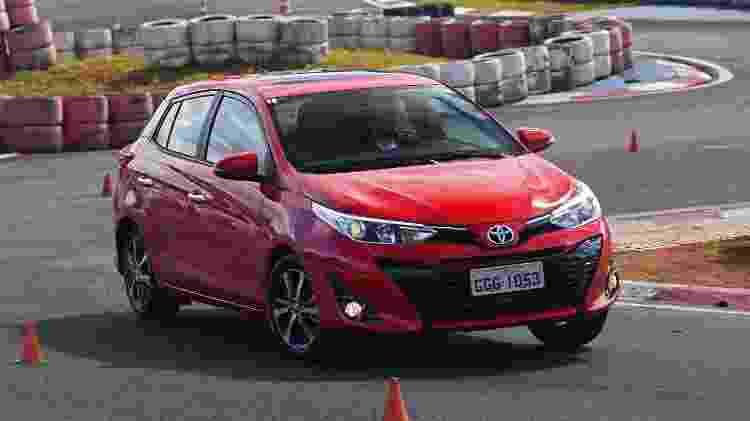 Toyota Yaris XLS Hatch - Murilo Góes/UOL - Murilo Góes/UOL