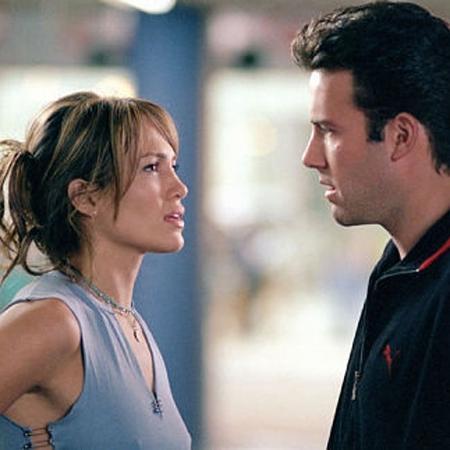 """Jennifer Lopez e Ben Affleck no filme """"Contato de Risco"""" (2003) - Divulgação"""