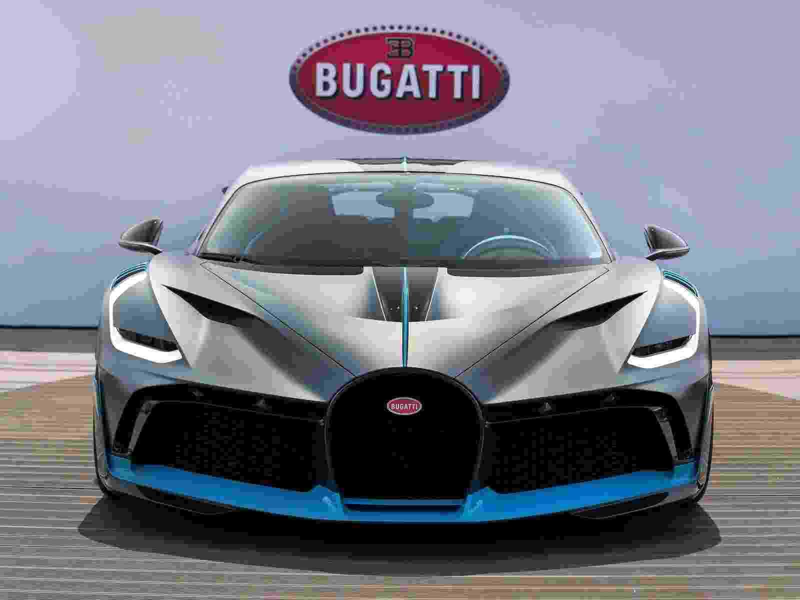 Bugatti Divo 2019 - Divulgação