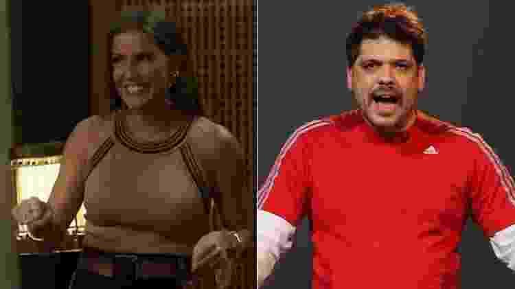 Karola e Rogerinho do Ingá - Montagem/UOL/Reprodução/TV Globo/YouTube - Montagem/UOL/Reprodução/TV Globo/YouTube