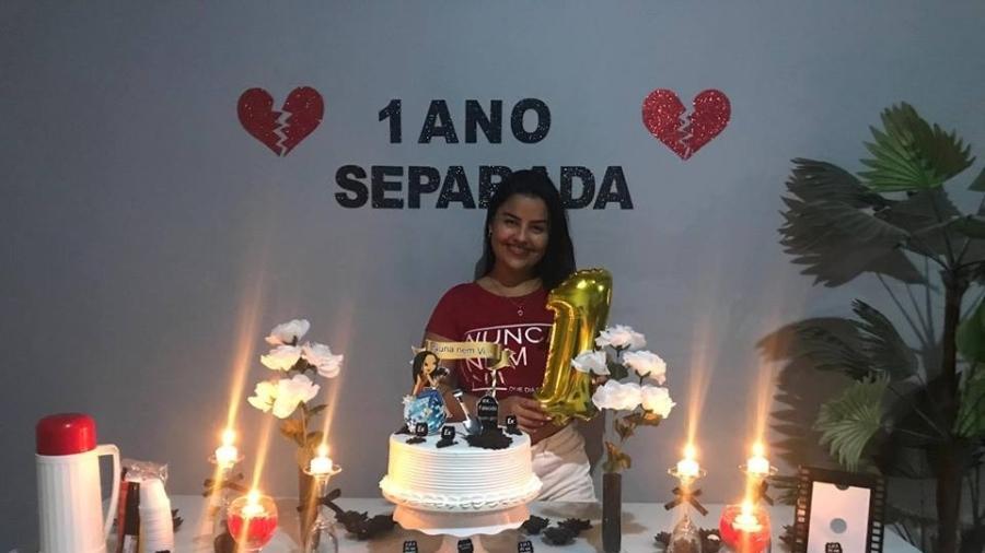 Tatyana Araújo afirma ter sido agredida pelo ex-marido - Arquivo Pessoal
