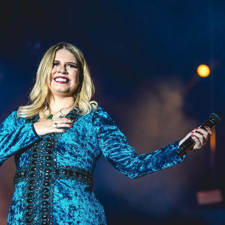 A cantora Marília Mendonça - Divulgação