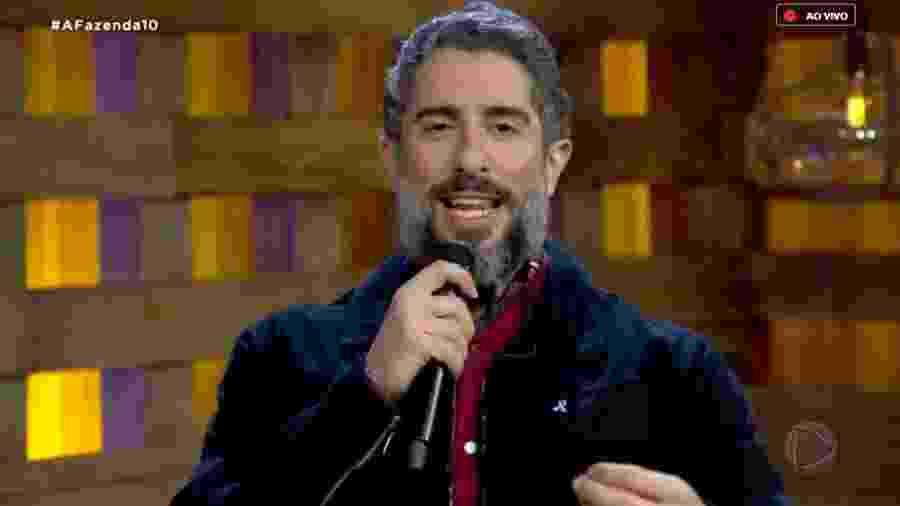 Marcos Mion revela os poderes da chama vermelha e abre votação - Reprodução/RecordTV