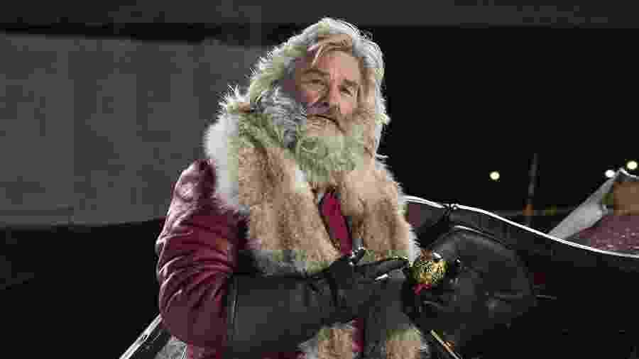 """Kurt Russell em """"Crônicas de Natal"""" - Divulgação"""
