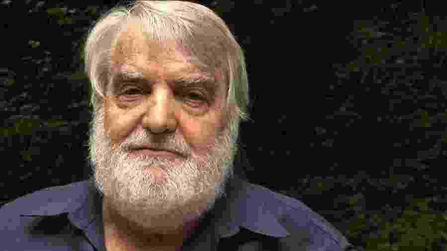 O escritor argentino Osvaldo Bayer - Reprodução