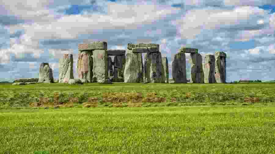 Sítio arqueológico de Stonehenge, na Inglaterra - Ahrys Art/Getty Images/iStockphoto