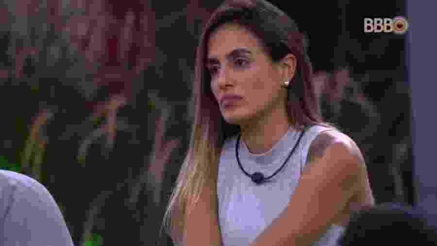 Carolina fala sobre tensão com Tereza - Reprodução/Globoplay