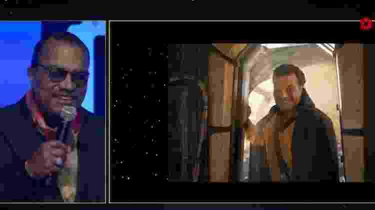 """Billy Dee Williams como Lando Calrissian no filme """"Star Wars: Episódio IX - A Ascensão Skywalker"""" - Reprodução"""