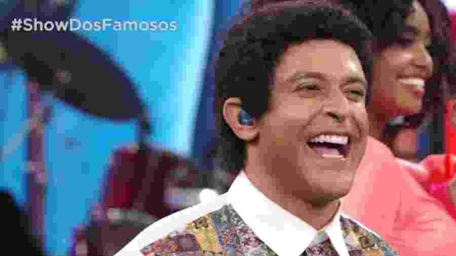 """Diogo Nogueira (foto) e Ludmilla lideram grupo B do """"Show dos Famosos"""" - Reprodução/TV Globo"""