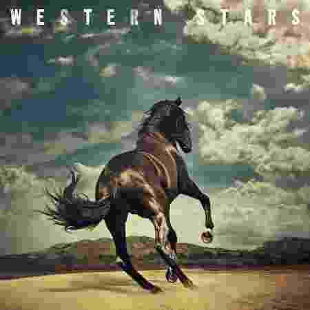 """Capa de """"Western Stars"""", novo disco de Bruce Springsteen - Divulgação"""