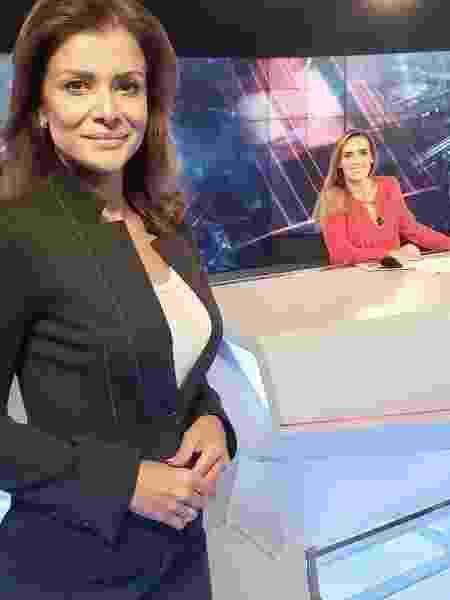 Karyn Bravo e Analice Nicolau foram demitidas nesta quinta-feira  - Reprodução/Facebook/analicenicolaujornalista