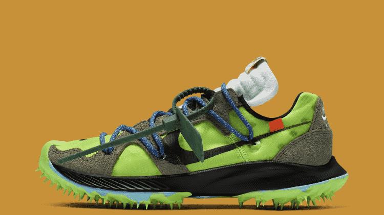 Tênis esportivo faz parte da coleção da Nike com Off-White - Divulgação