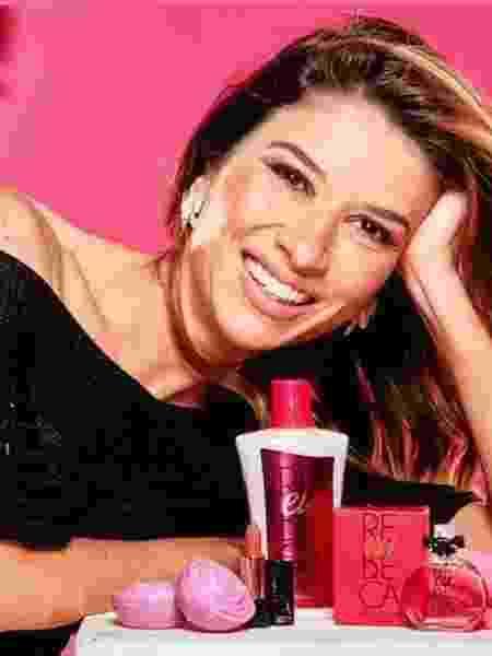 Rebeca Abravanel ganhou seu próprio perfume da Jequiti - Divulgação