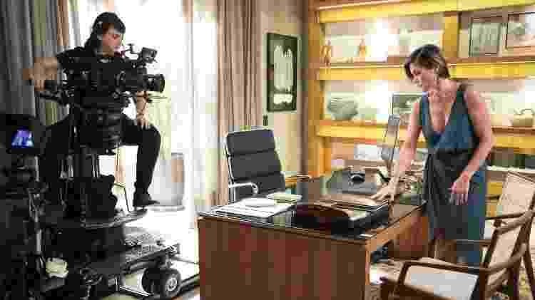 Isa Bezerra registra cena de Flávia Alessandra - João Miguel Junior/Globo - João Miguel Junior/Globo