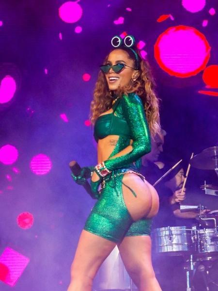 Anitta é um dos destaques do pós-Carnaval em São Paulo - Edson Lopes Jr./UOL