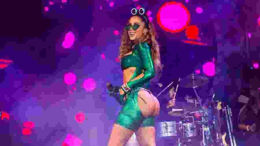 Anitta se apresenta no Carnaval na Cidade 2020, no Jockey Club, em São Paulo - Edson Lopes Jr./UOL