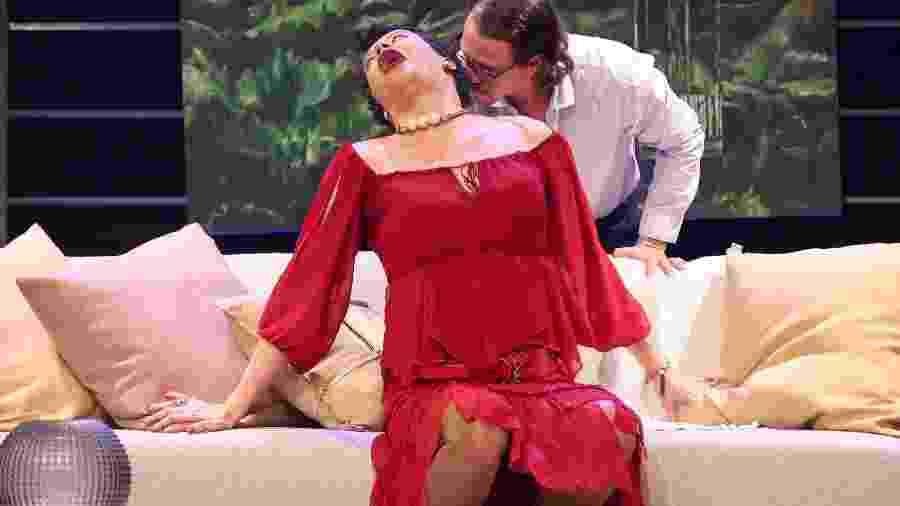 Peça apresentada no Teatro Petra Gold, no Leblon, antes da quarentena - Roberto Filho / Brazil News