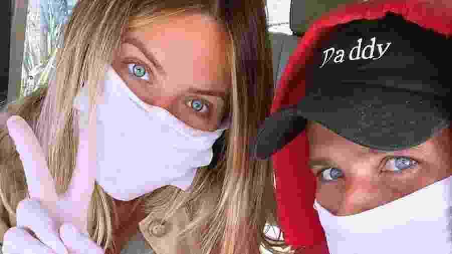 Giovanna Ewbank e Bruno Gagliasso saíram de casa para o pré-natal da apresentadora - Reprodução/Instagram
