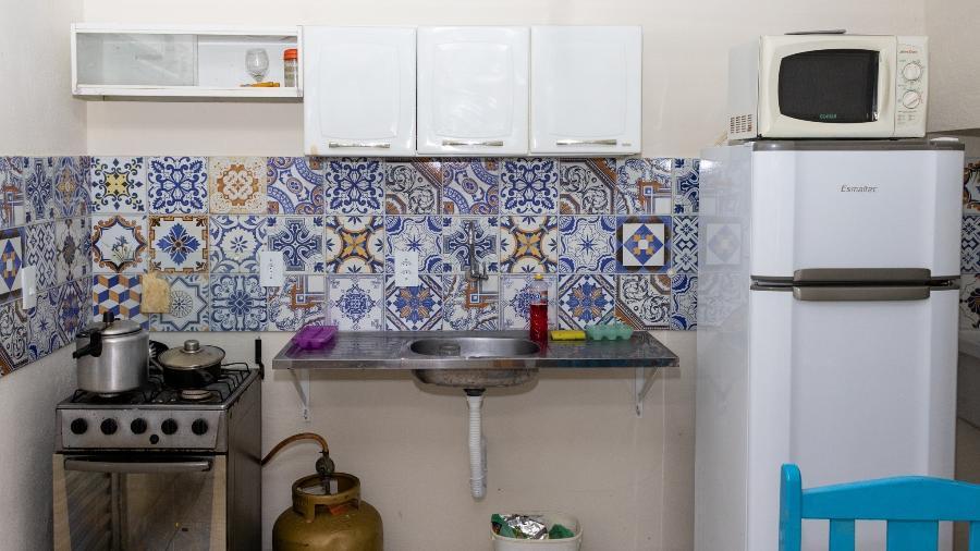 Cozinha reformada pela Dona Obra, iniciativa de Recife - Divulgação/Dona Obra
