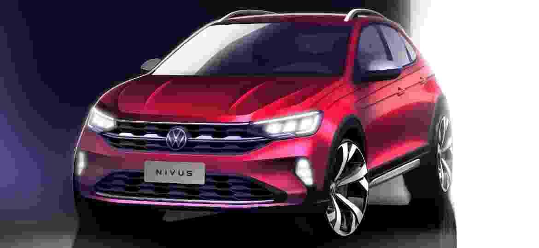 Nivus traz ao Brasil logotipo que estreou na Alemanha em 2019 - Divulgação