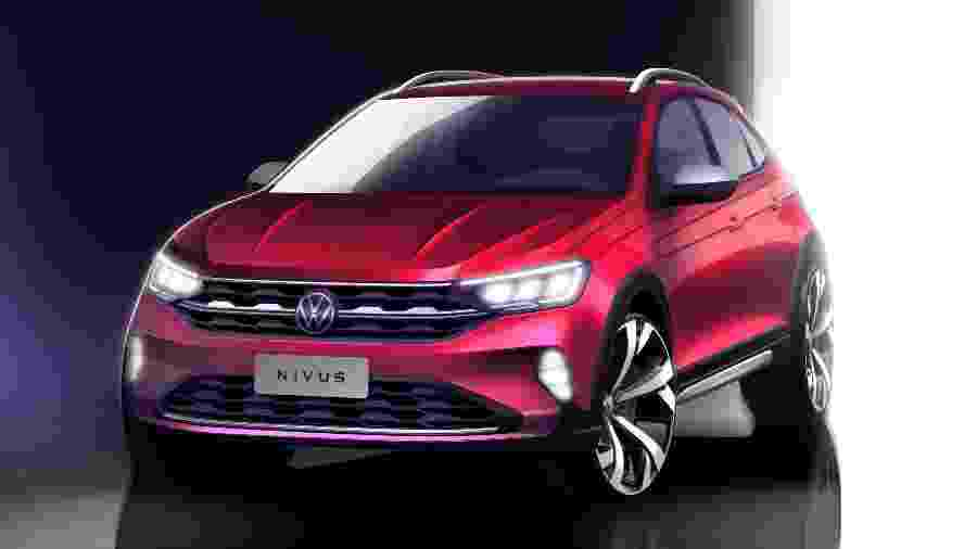 VW Nivus teaser - Divulgação