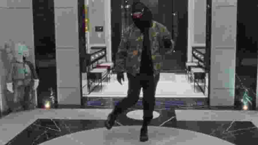 """Drake no clipe de """"Toosie Slide"""" - Reprodução"""