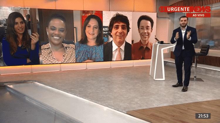 guga chacra - reprodução/GloboNews - reprodução/GloboNews