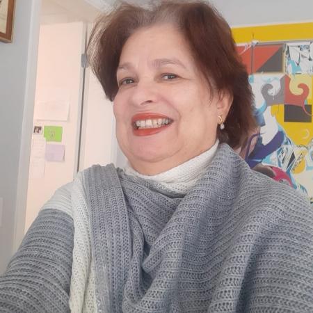 A infectologista Maria Ivete Boulos coordena um núcleo de atendimento à vítimas de violência no HC SP e é mãe do político Guilherme Boulos - Arquivo pessoal