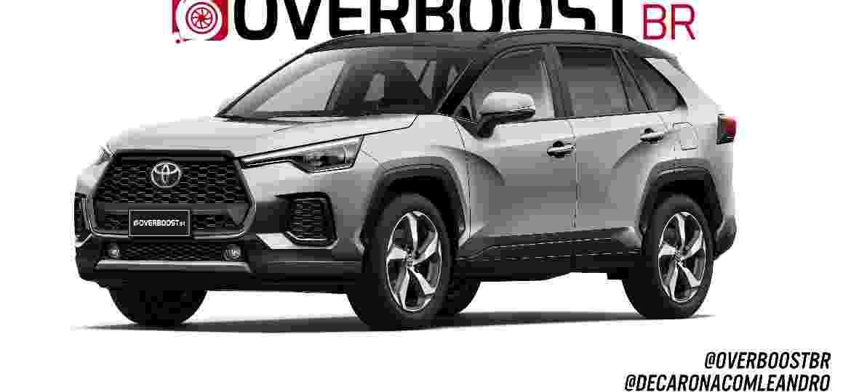 Corolla Cross deve ser produzido em Sorocaba (SP) a partir de 2021 - Renato Aspromonte/Overboost BR