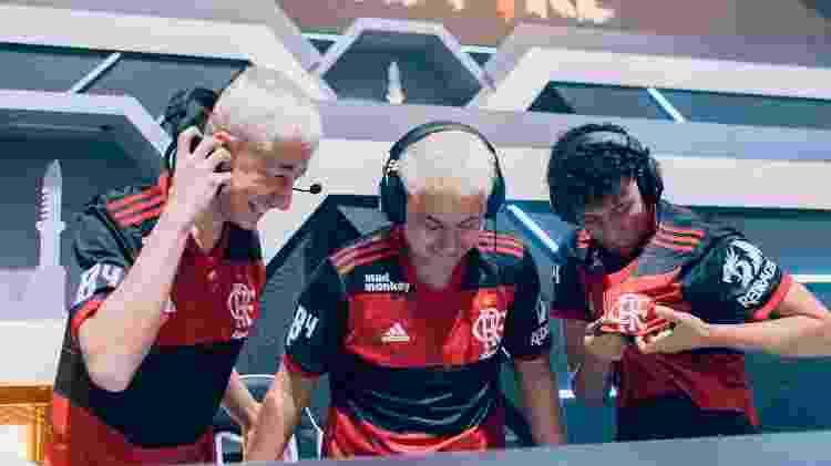Flamengo B4 LBFF - Divulgação/Garena - Divulgação/Garena