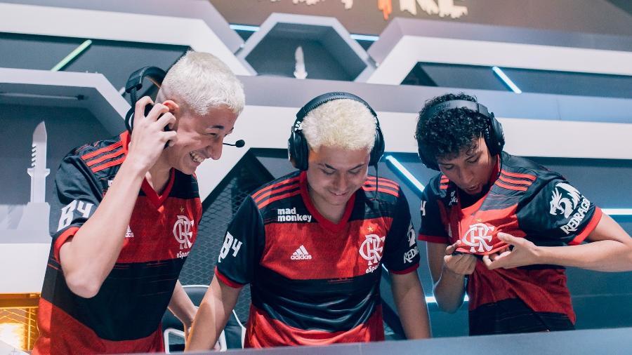 O Flamengo B4 fechou a terceira semana de Liga Brasileira de Free Fire (LBFF) na liderança do campeonato - Divulgação/Garena