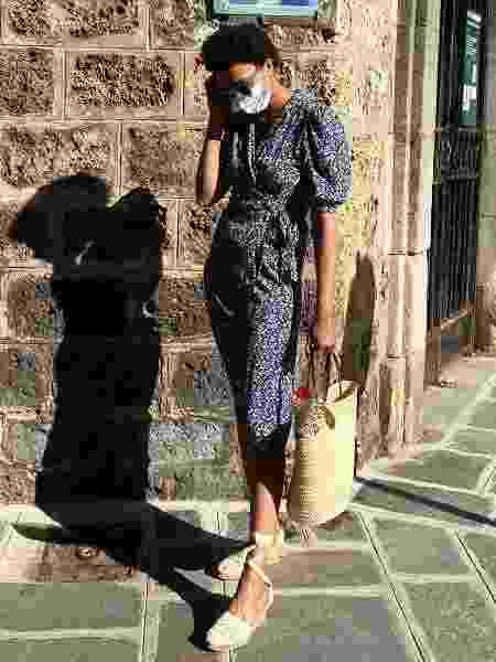 vestido 1 - Reprodução/@lenafarl/Instagram  - Reprodução/@lenafarl/Instagram