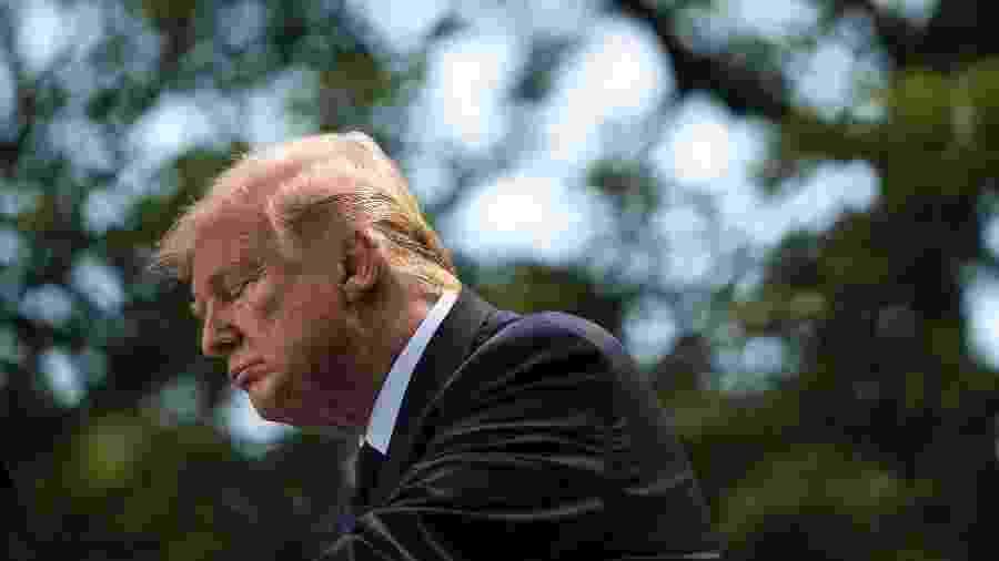 Ex-funcionário do governo americano admite que escreveu artigo anônimo contra Trump em 2018 - Drew Angerer/Getty Images