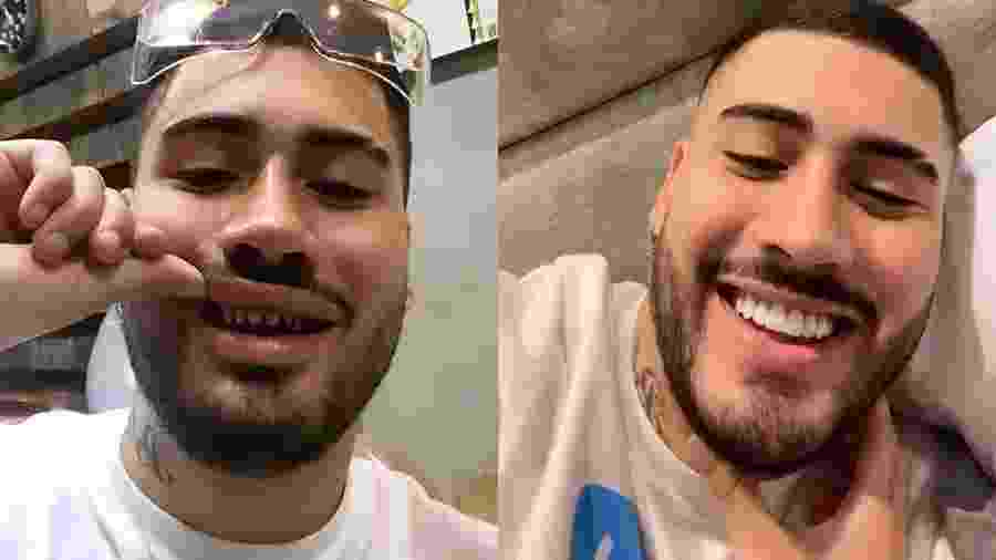 Kevinho diverte seguidores ao postar foto sem as lentes de contato nos dentes - Reprodução/Instagram