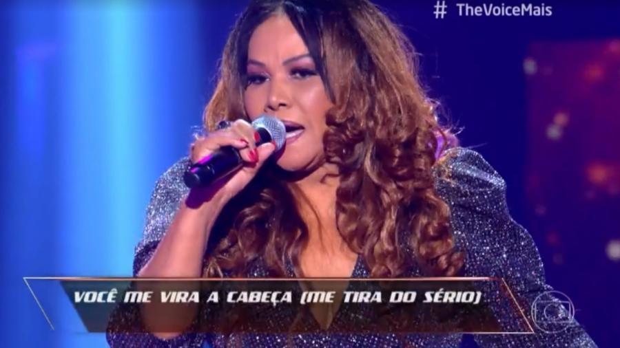 """Abadia Pires impressionou ao cantar """"Você me vira a cabeça"""" - Reprodução/Instagram"""