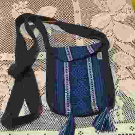 Bolsa étnica comprada por Leandro na Cidade do México - Arquivo Pessoal - Arquivo Pessoal