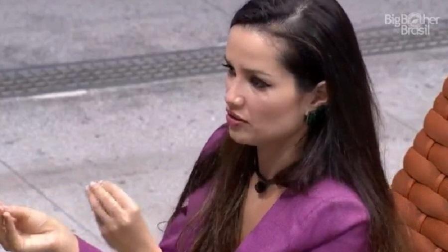 BBB 21: Juliette teme virar alvo de votos dos brothers - Reprodução/Globoplay