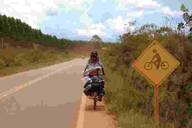 Eduardo e Cajuína na estrada - Arquivo pessoal - Arquivo pessoal