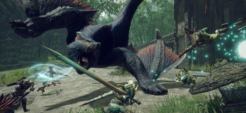 Monster Hunter Rise - Divulgação/Capcom