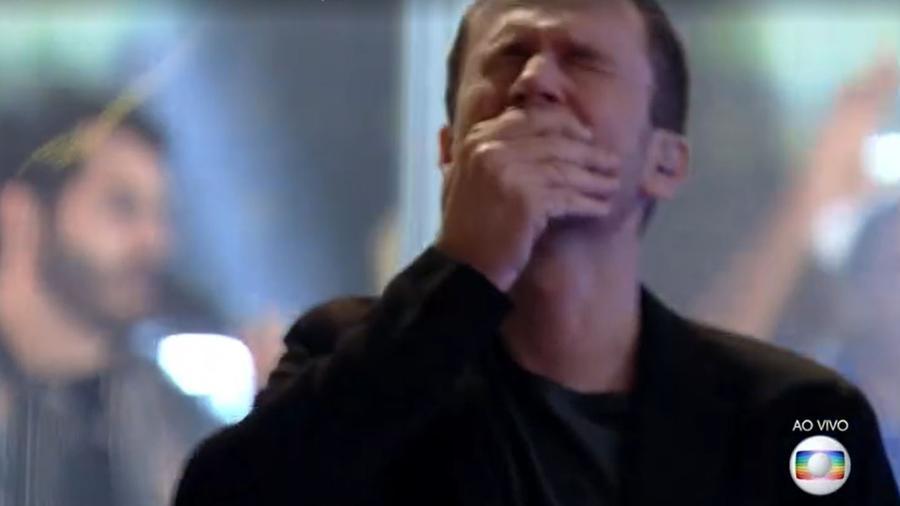 BBB 21: Tiago Leifert chora na final do BBB - Reprodução/ Globoplay