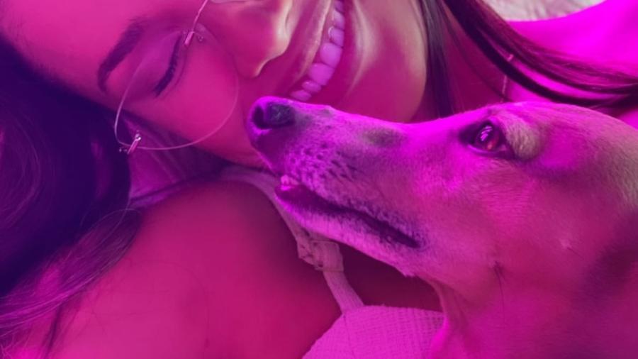 "Juliette, campeã do ""BBB 21"", e Plínio, cachorro de Anitta - Instagram/@juliette"